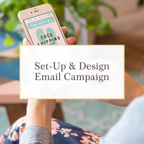 Design and GoLive Website Workshop Set Up Email Marketing and Campaigns in Mailchimp