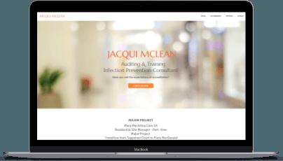 Jacqui McLean on Laptop Design+GoLive