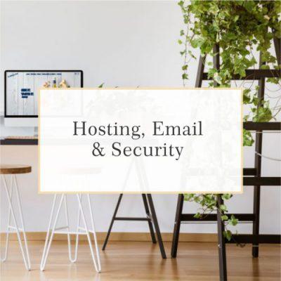 Design and GoLive Website Workshop Standard Website Hosting Plan