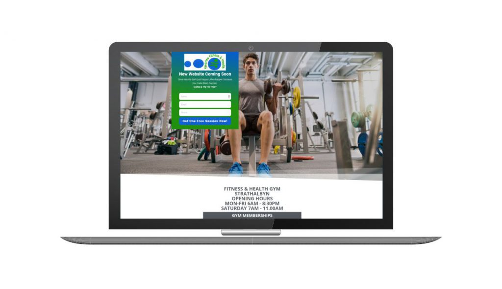 Design and Go Live Fleurieu Fitness