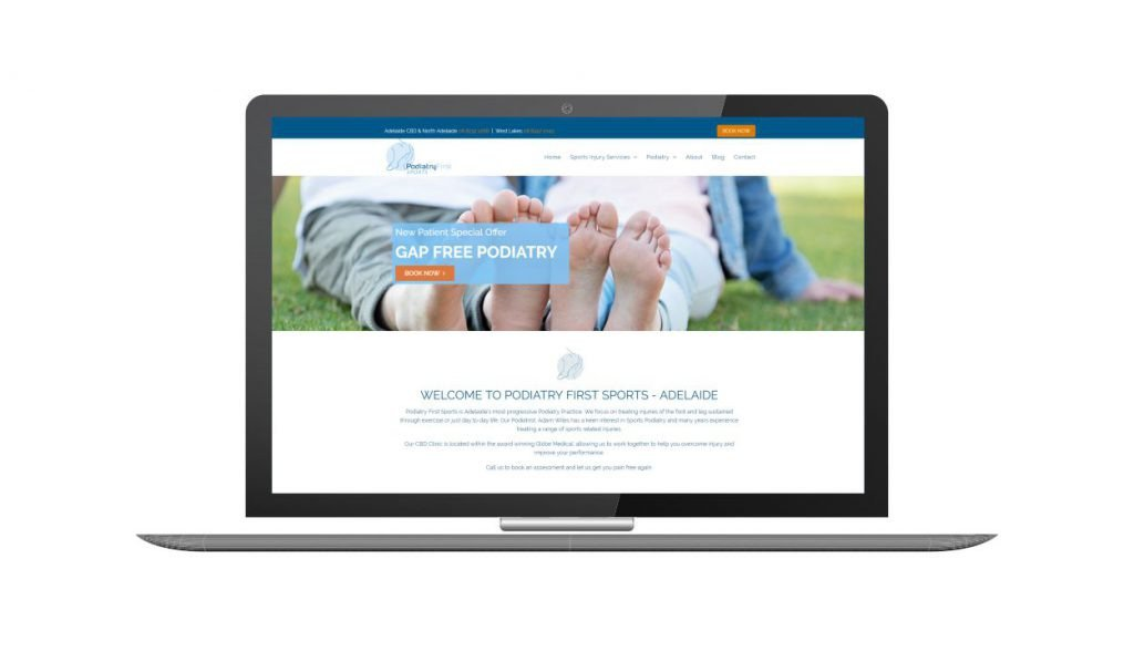 Design and Go Live Podiatry First