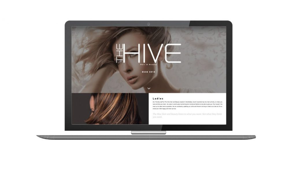 Design and Go Live The Hive Hair and Beauty