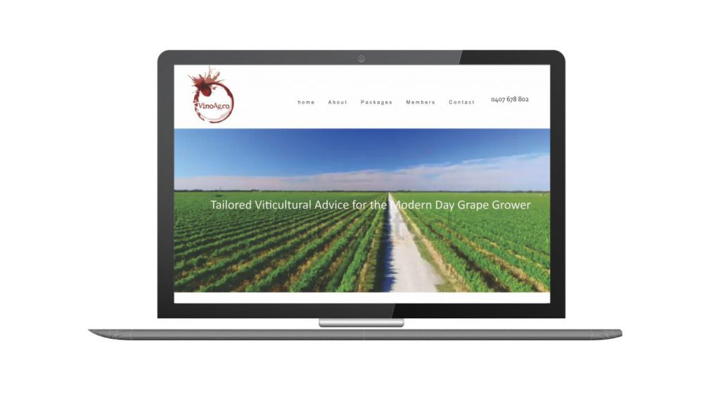 Design and Go Live VinoAgro