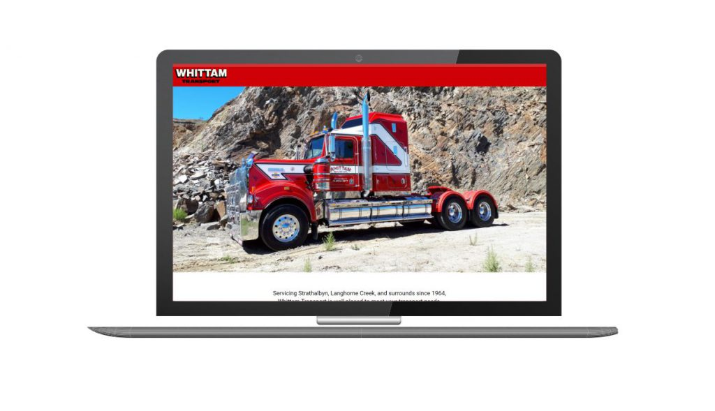 Design and Go Live Whittam Transport Strathalbyn